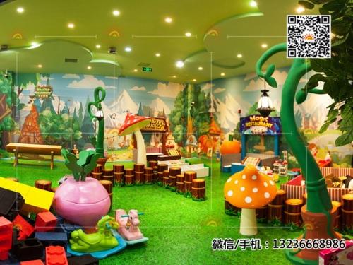抚顺永新购物广场儿童乐园案例展示