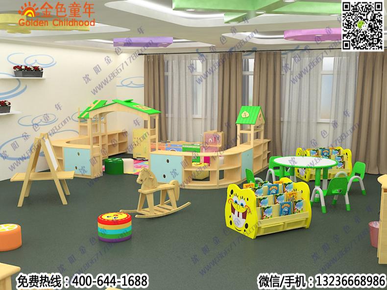 幼儿园教室设施