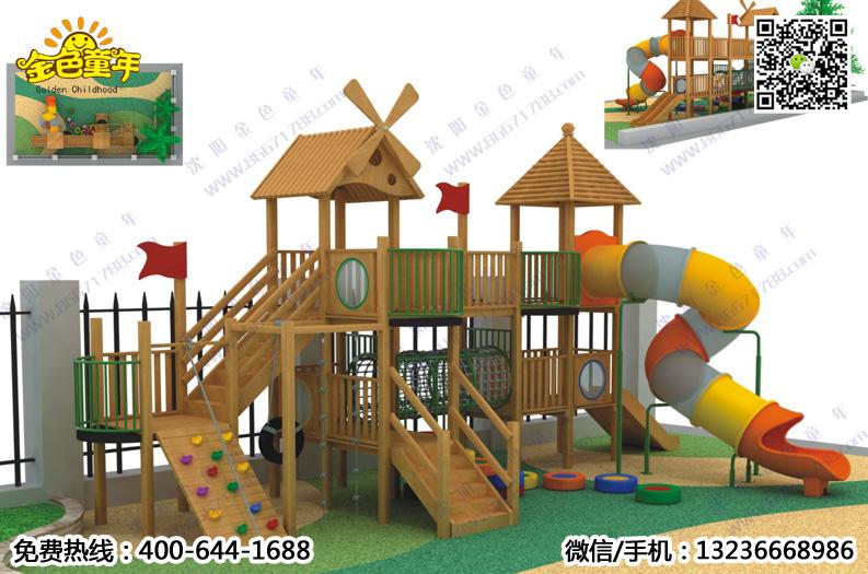 木制滑梯拓展价格