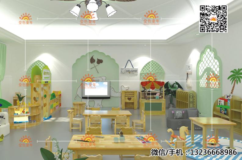 幼儿园桌椅木质桌椅