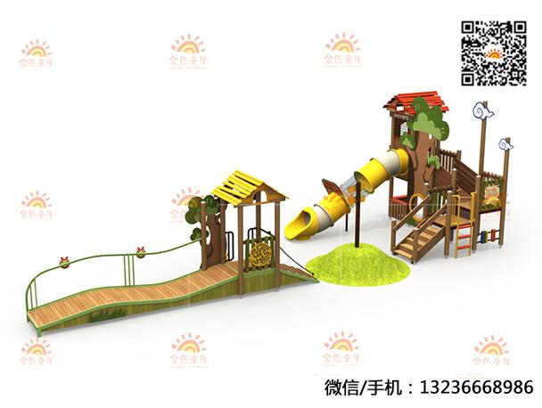 非标组合滑梯定制 自然系列组合滑梯