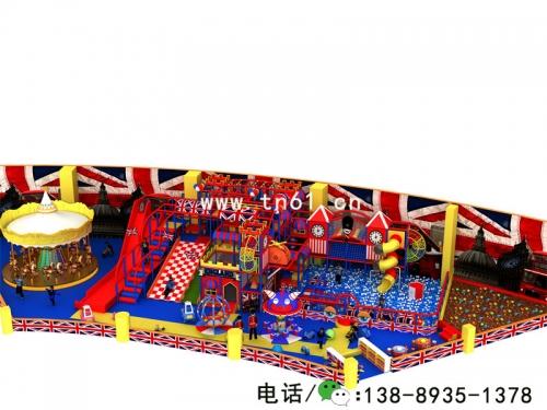 英伦风格 淘气堡儿童乐园