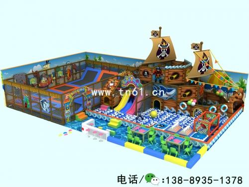 淘气堡儿童乐园海盗主题