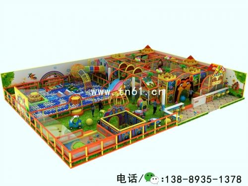森林部落 淘气堡儿童乐园