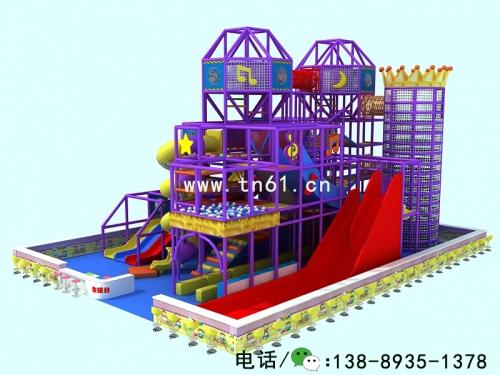 淘气堡儿童乐园弹性迷宫
