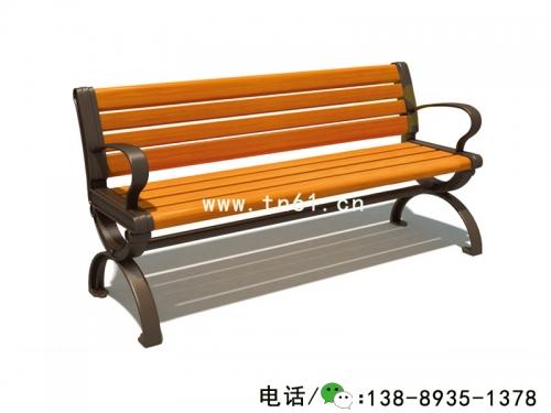 实木休闲长椅