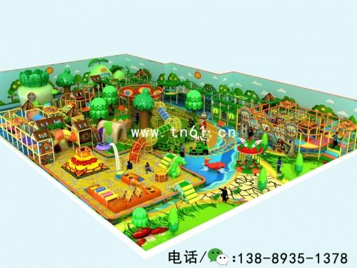 淘气堡儿童乐园森林主题