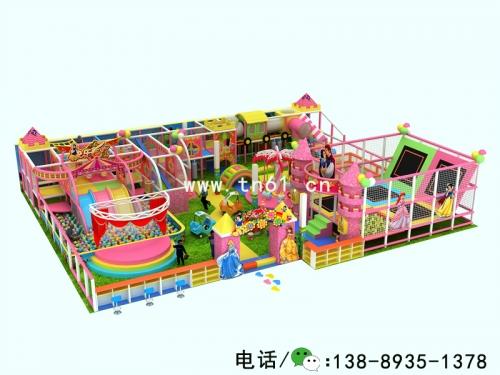 淘气堡儿童乐园城堡主题