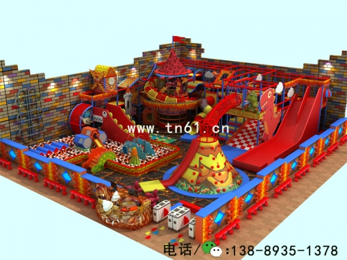 淘气堡儿童乐园恐龙主题