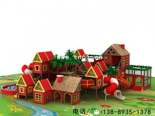 中国风淘气堡儿童乐园
