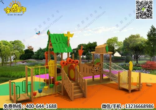 木制滑梯-01