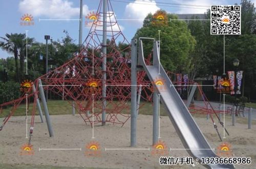 不锈钢滑梯12