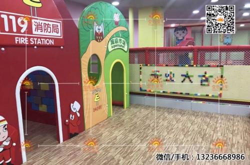 沈阳金色童年开原市蓝鲸梦幻主题乐园06