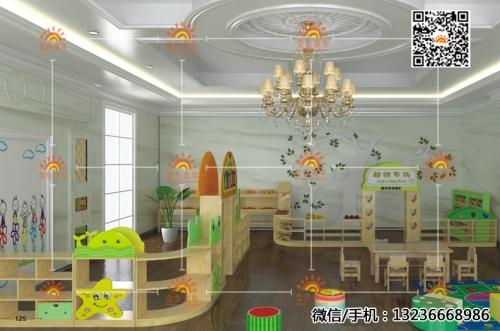 幼儿园儿童木质桌椅