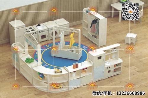 幼儿园定制组合柜