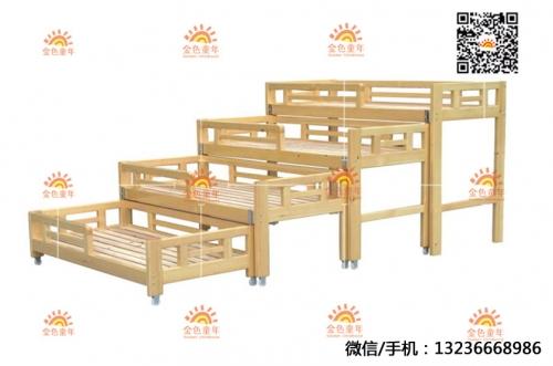 幼儿园实木床价格