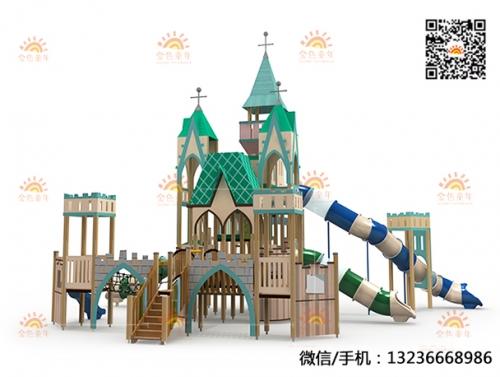 城堡主题公园非标滑梯设施